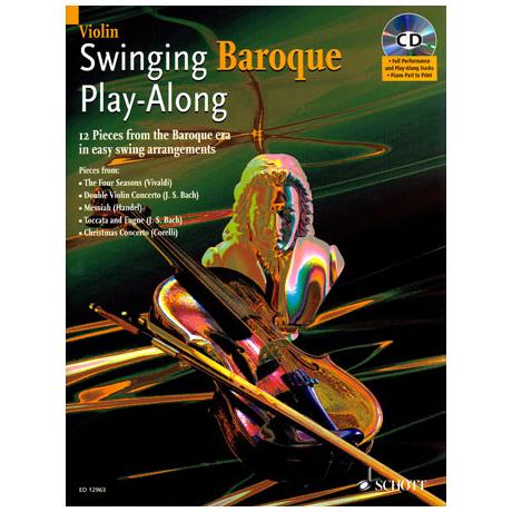 Swinging Baroque Play-Along (+CD)
