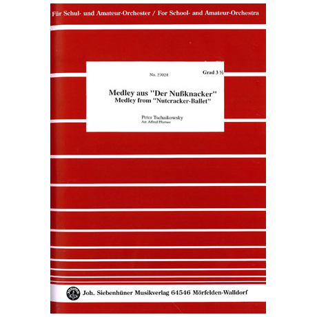 Tschaikowski, P.I.: Medley aus »Der Nussknacker«