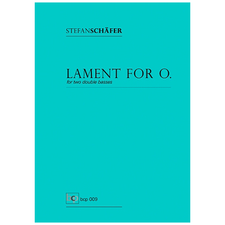 Schäfer, S.: Lament for O