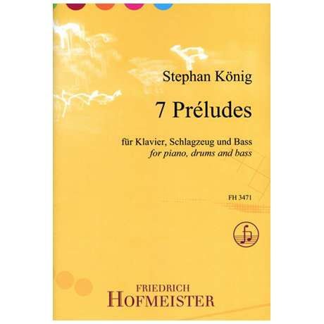 König, S.: 7 Preludés – Jazzinspirierte Klangbilder