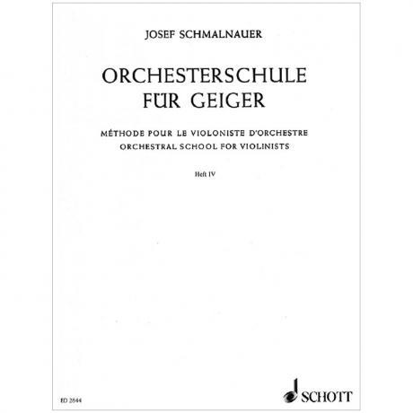 Orchesterschule für Geiger Band 4 – Der Ring des Nibelungen