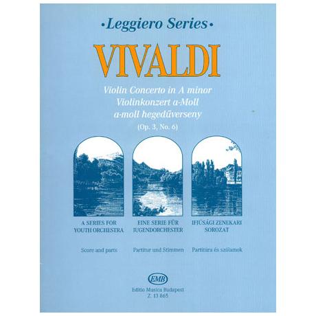 Leggiero - Vivaldi: Violinkonzert a-Moll Op. 3, No.6 RV 356