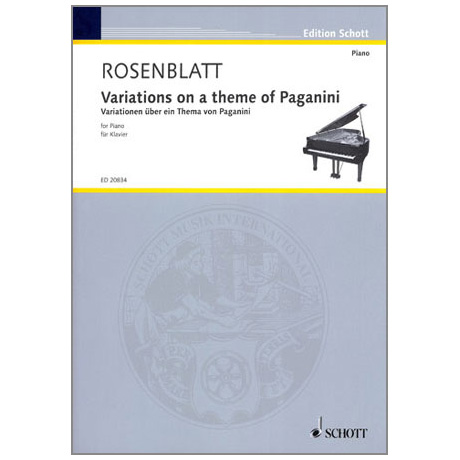 Rosenblatt, A.: Variations on a theme of Paganini