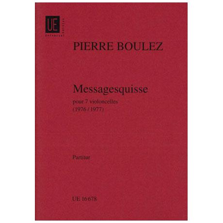 Boulez, P.: Messagesquisses