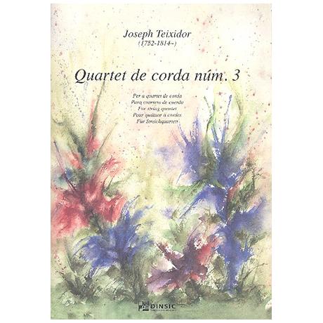 Teixidor, J.: Streichquartett Nr.4