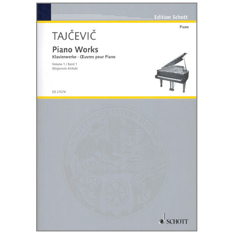 Tajcevic: Klavierwerke Band 1