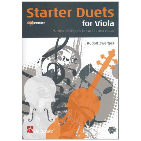 Zwartjes, R.: Starter Duets for Viola