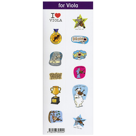Blackwell: String Time Sticker for Viola