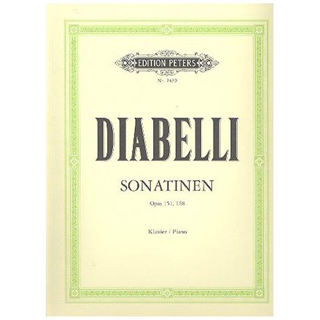 Diabelli: 11 Sonatinen Op. 151, 168