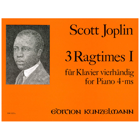 Joplin, Scott: 3 Ragtimes Band 1