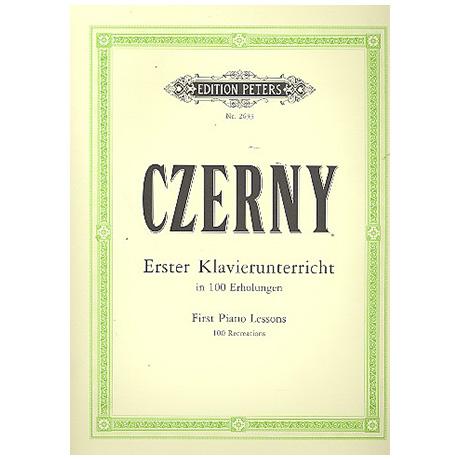 Czerny, C.: 100 Erholungen für Anfänger