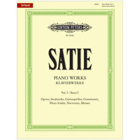 Satie, E.: Klavierwerke Band I