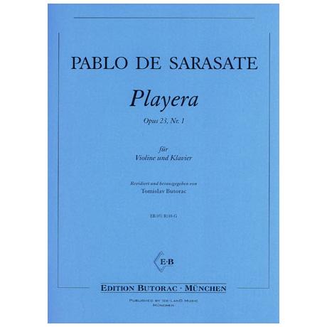 Sarasate, P. d.: Playera Op. 23/1