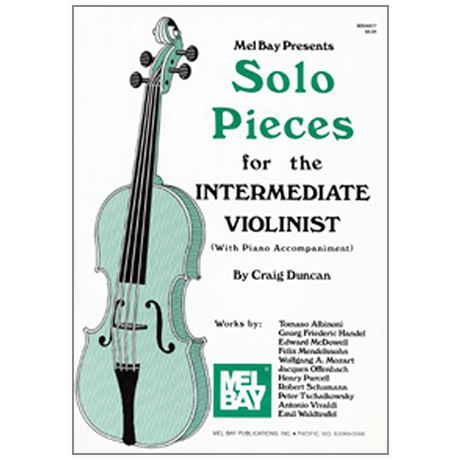 Duncan, C.: Solo Pieces for the intermediate Violinist (+Online PDF)