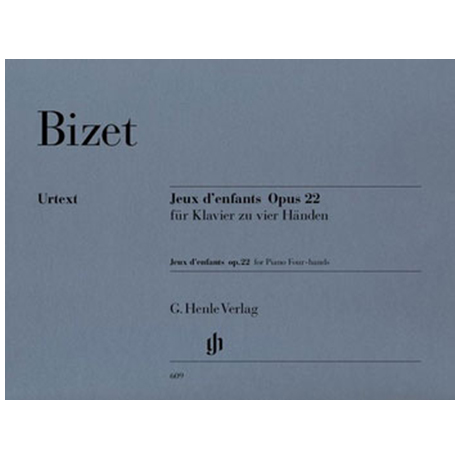 Bizet, G.: Jeux d´enfants Op. 22 zu 4 Händen