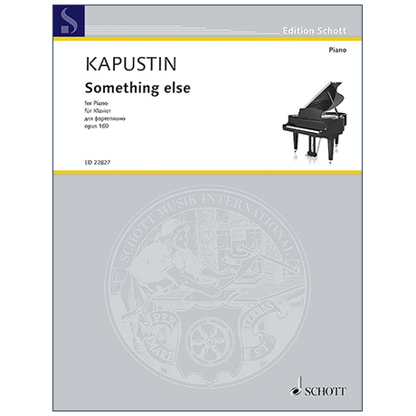 Kapustin, N.: Something else Op. 160