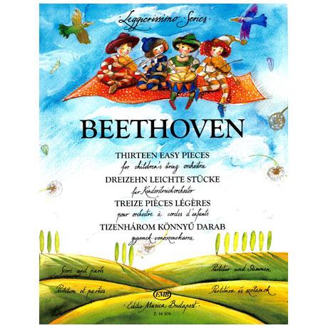 Leggierissimo – Beethoven: Dreizehn leichte Stücke