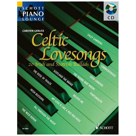 Schott Piano Lounge – Celtic Lovesongs (+CD)
