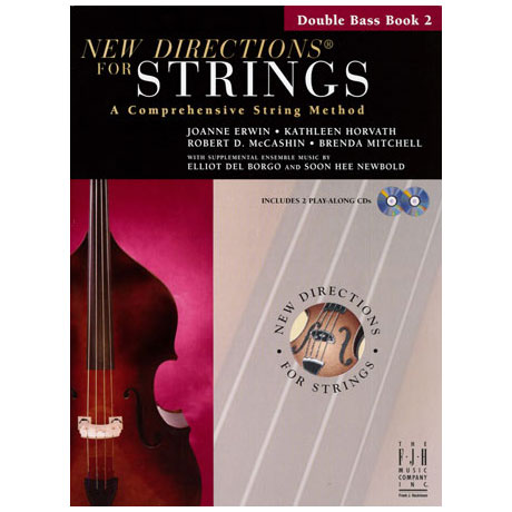 New Directions for Strings - Double Bass Book 2 (+CD)