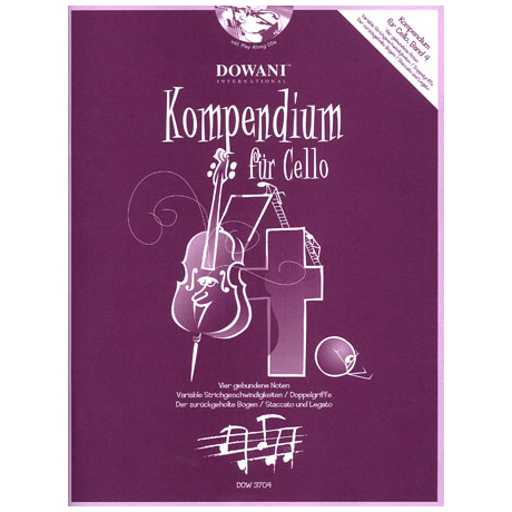 Kompendium für Cello - Band 4 (+CD)