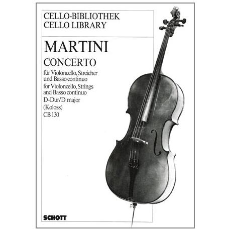 Martini, G. B.: Violoncellokonzert D-Dur