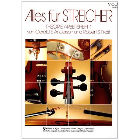 Alles für Streicher – Theorie Arbeitsheft Viola Band 1