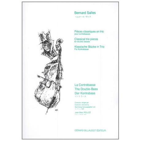 Salles, B.: Pièces classiques en trio