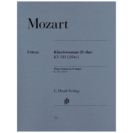 Mozart, W. A.: Klaviersonate D-Dur KV 311 (284c)