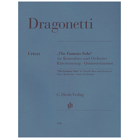 Dragonetti, D.: The Famous Solo