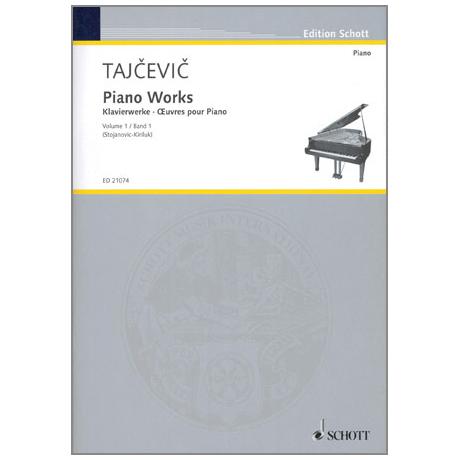 Tajcevic, M.: Klavierwerke Band 1
