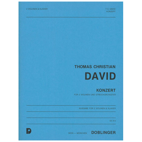 David, Th. Chr.: Konzert
