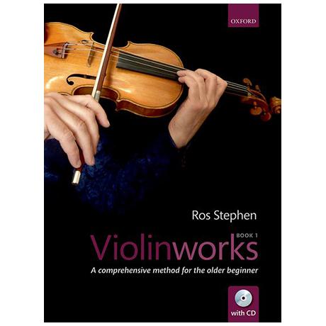 Stephen, R.: Violinworks 1 (+CD)