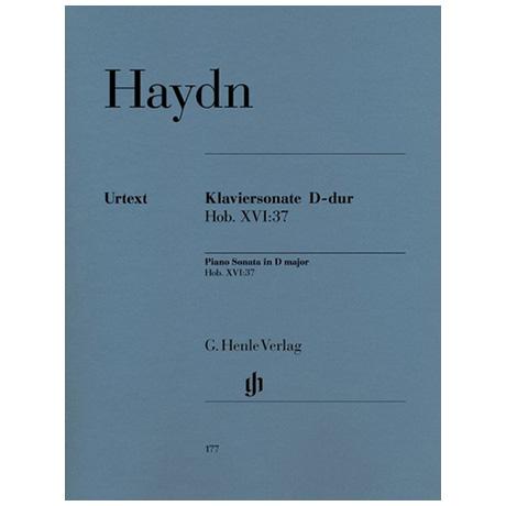 Haydn, J.: Klaviersonate D-Dur Hob. XVI:37