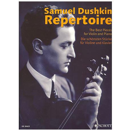 Samuel Dushkin Repertoire