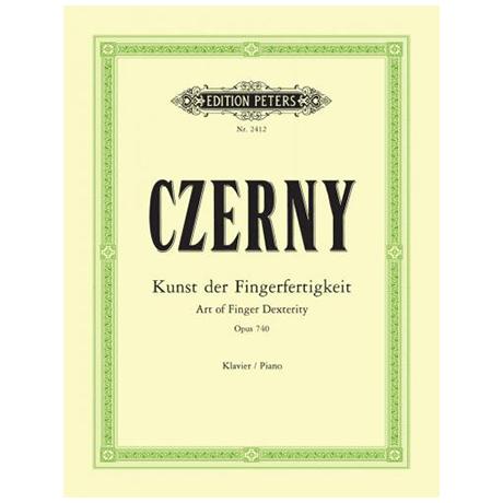 Czerny, C.: Kunst der Fingerfertigkeit Op. 740