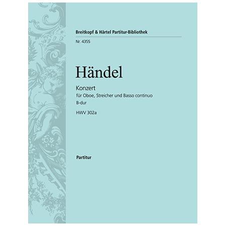 Händel, G. F.: Oboenkonzert Nr. 2 B-Dur HWV 302a