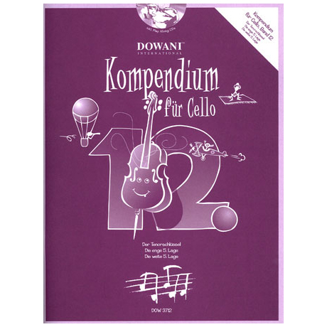 Kompendium für Cello - Band 12 (+ 2 CD's)