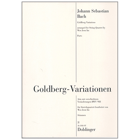 Bach, J. S.: Goldberg - Variationen