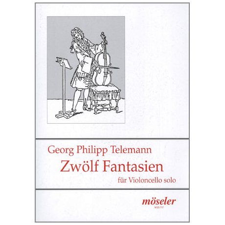 Telemann, G.P.: 12 Fantasien TWV 40: 14-25