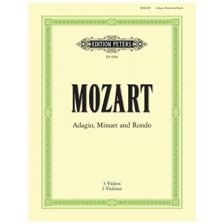 Mozart, W.A.: Adagio, Menuett und Rondo