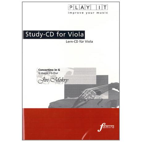 Mokry, J.: Concertino in G-Dur Play-Along-CD (nur CD)