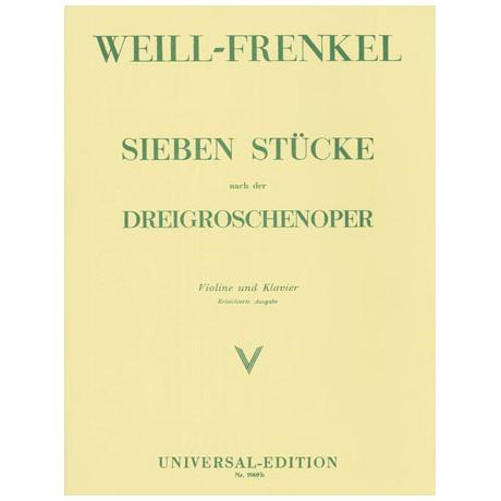 Weill, K.: 7 Stücke aus der Dreigroschenoper
