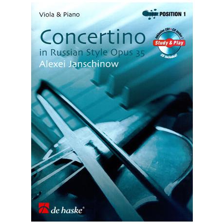Janschinow, A.: Concertino im russischen Stil Op. 35 (+CD)