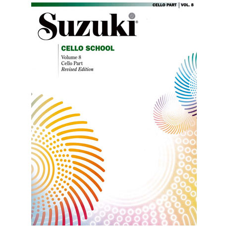 Suzuki Cello School Vol.8