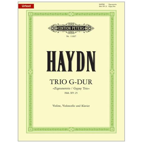 Haydn, J.: Klaviertrio Hob. XV:25 G-Dur »Zigeunertrio«