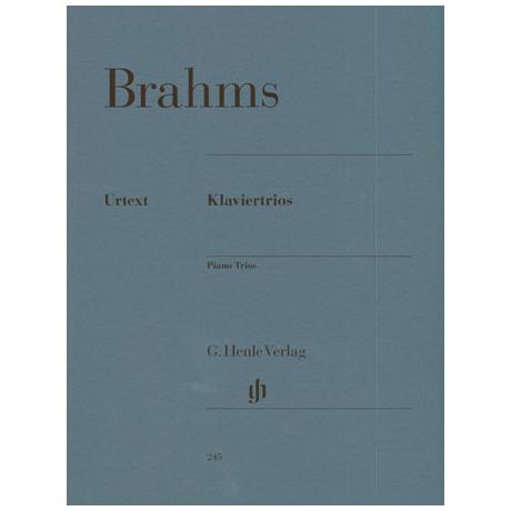 Brahms, J.: Klaviertrios H-Dur Op. 8, C-Dur Op. 87, c-Moll Op. 101 Urtext