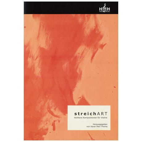 streichART – 10 leichtere Kompositionen