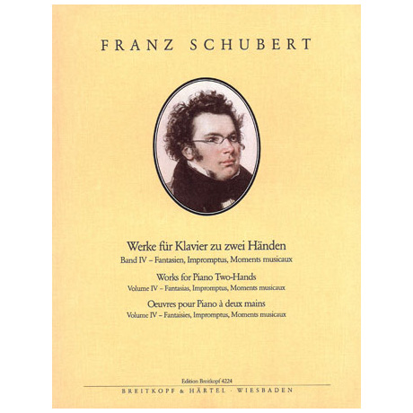 Schubert, F.: Sämtliche Klavierwerke Band IV: Fantasien, Impromptus, Moments musicaux