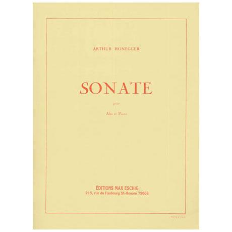 Honegger, A.: Sonate