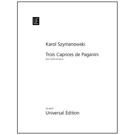 Szymanowski, K.: 3 Caprices de Paganini Op. 40